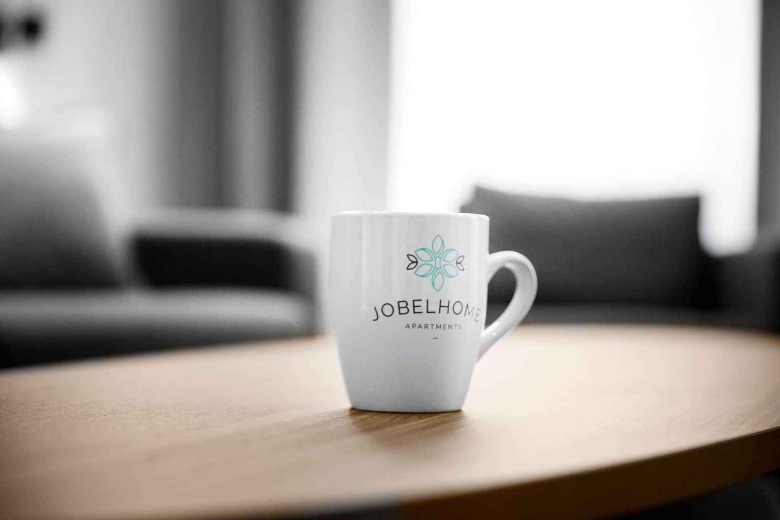 Take a soul warming sip from a Jobelhome mug and feel like you are at home